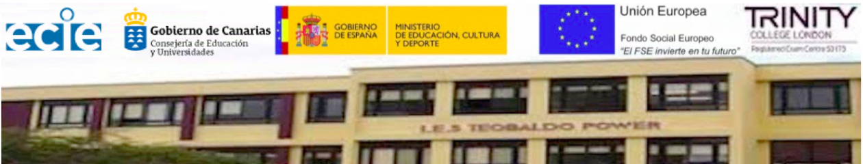 IES TEOBALDO POWER – FONDO SOCIAL EUROPEO